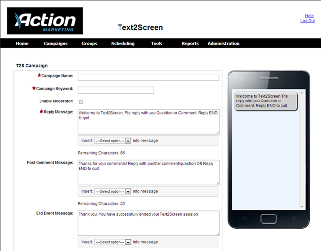 SMS Text Message Marketing | Action Golf Marketing | Golf Course